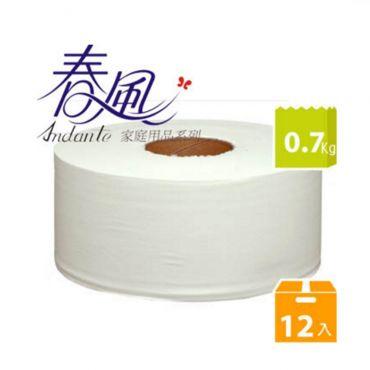 春風大捲筒衛生紙(0.7 kgX12捲/箱)