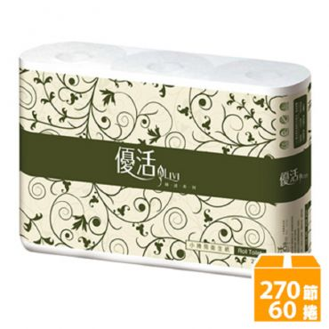 優活小捲筒衛生紙(270張x60捲)