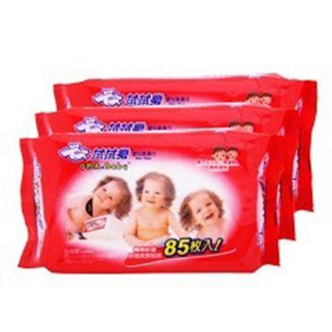 拭拭樂 嬰兒柔濕巾 85抽x3包