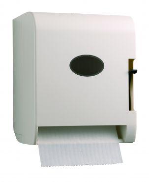 大型捲筒擦手紙架-白(拉式)
