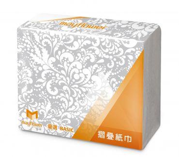 五月花 MFP優選摺疊紙巾(擦手紙) 200抽X20包