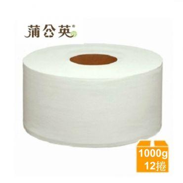 蒲公英 大捲筒衛生紙1kgx12捲/箱