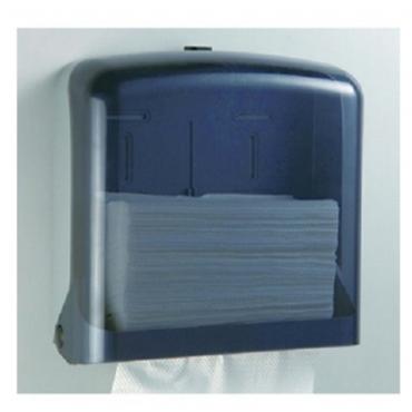 多功能紙巾架-透明黑