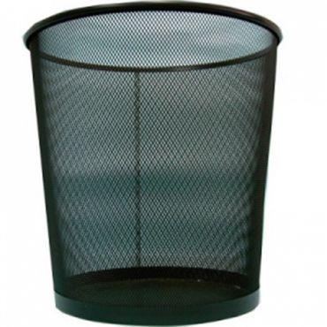 黑拉網圓形垃圾桶 (中) 20*H28