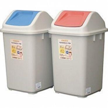 《環保媽媽》 附蓋垃圾桶 (10L)