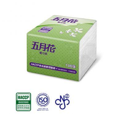 五月花 紙餐巾 100張x48包/箱