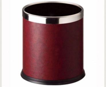 C-45S-23 酒紅色人造皮(雙層圓形)