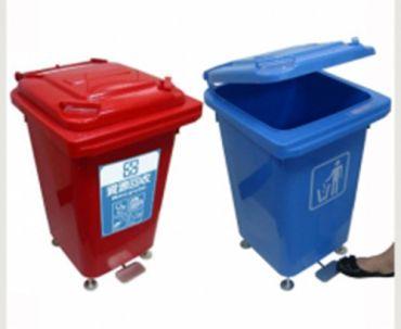 M60 公升腳踏式資源回收桶