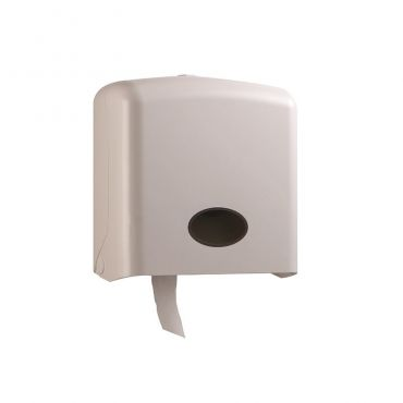 大捲筒衛生紙架-方型白色