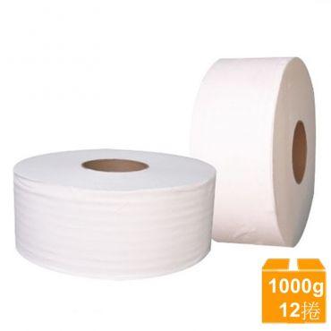 舒棉大捲衛生紙(1000gX12捲/箱)