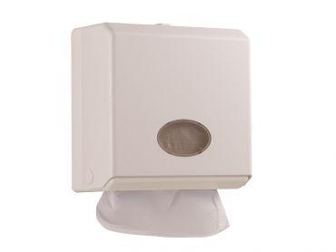 抽取衛生紙架(白色)-可供二折式擦手紙架