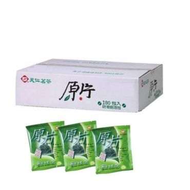天仁原片-鮮綠茶(180入)防潮鋁泊包
