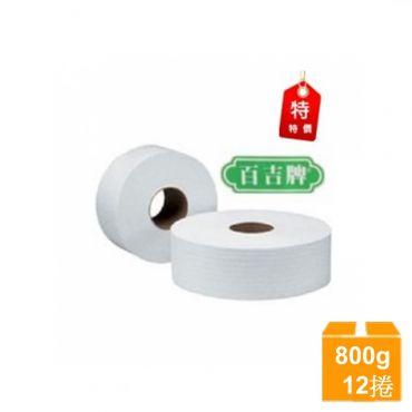 特價-百吉牌 大捲筒衛生紙800gx12捲/箱