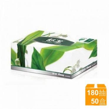 舒潔盒裝面紙 180抽X50盒/箱