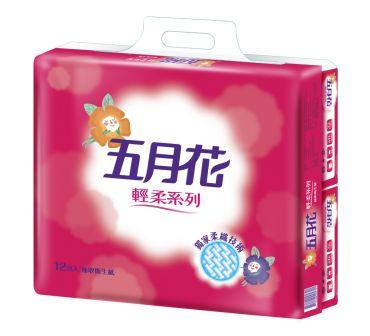 特價-五月花 輕柔抽取式衛生紙110抽X72包(箱)