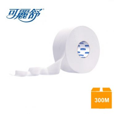 可麗舒超長大捲筒衛生紙 300Mx16捲/箱