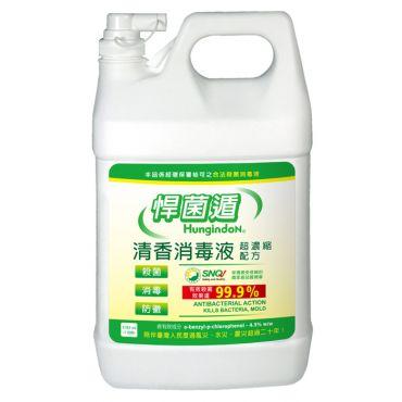 悍菌遁清香消毒液[1加侖]
